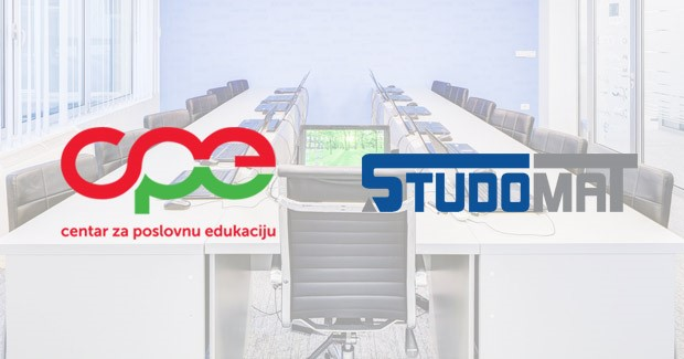 Centar za poslovnu edukaciju i STUDOMAT potpisali sporazum o saradnji