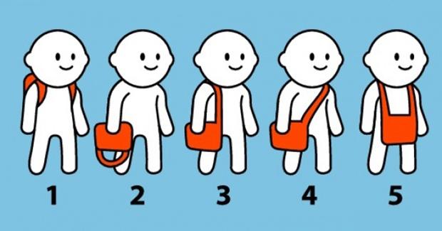 Šta način na koji nosite torbu govori o vama?