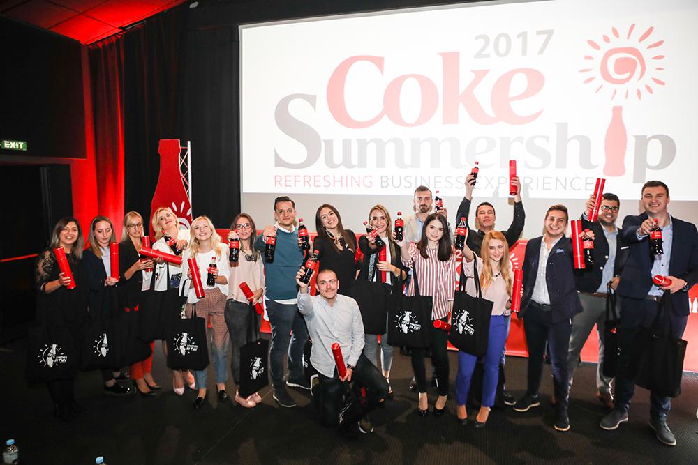 Druga generacija praktikanata uspješno završila Coca-Colin program ljetnih praksi