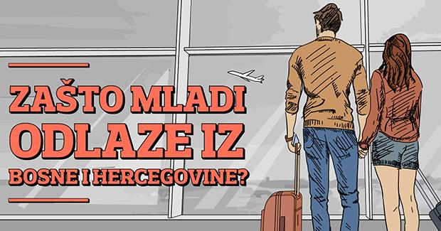 Odlazak mladih iz BiH: Kuda, zašto, koliko…