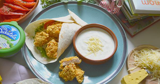 Studentski recepti: Hrskavi chicken wrap