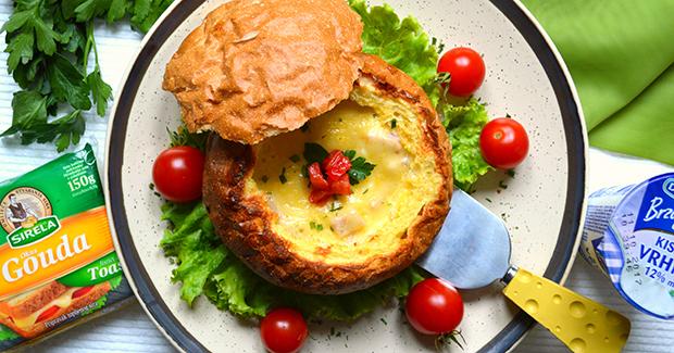 Studentski recepti: Zapečeni punjeni sendvič