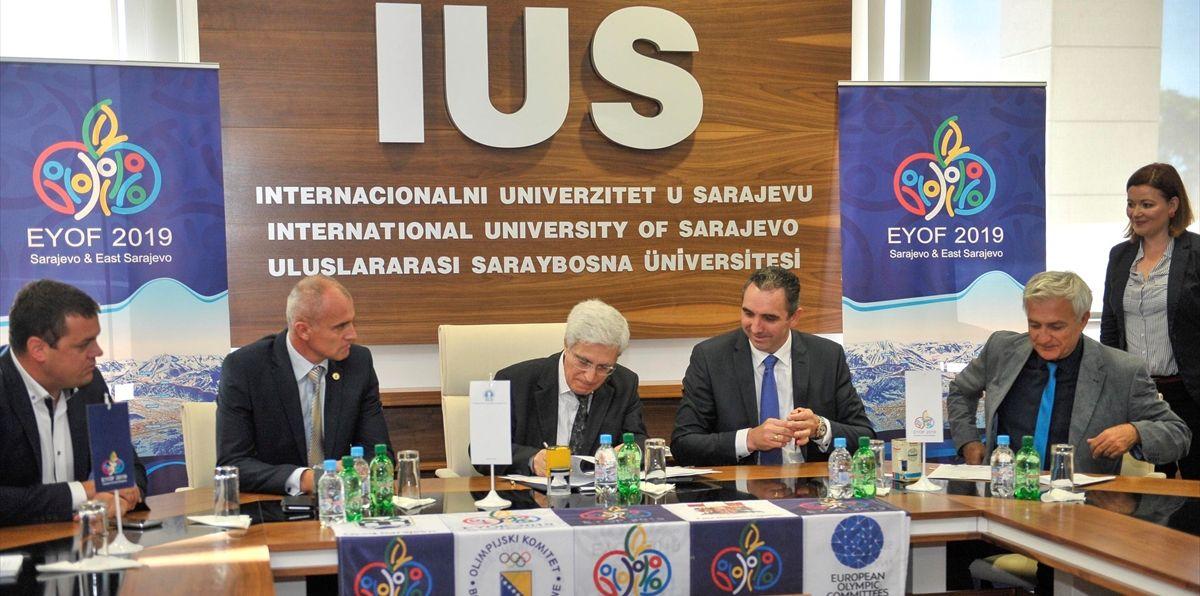 EYOF: Potpisan sporazum sa Internacionalnim Univerzitetom u Sarajevu
