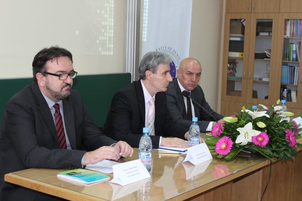 Aktuelna pitanja rada i razvoja Univerziteta u Zenici