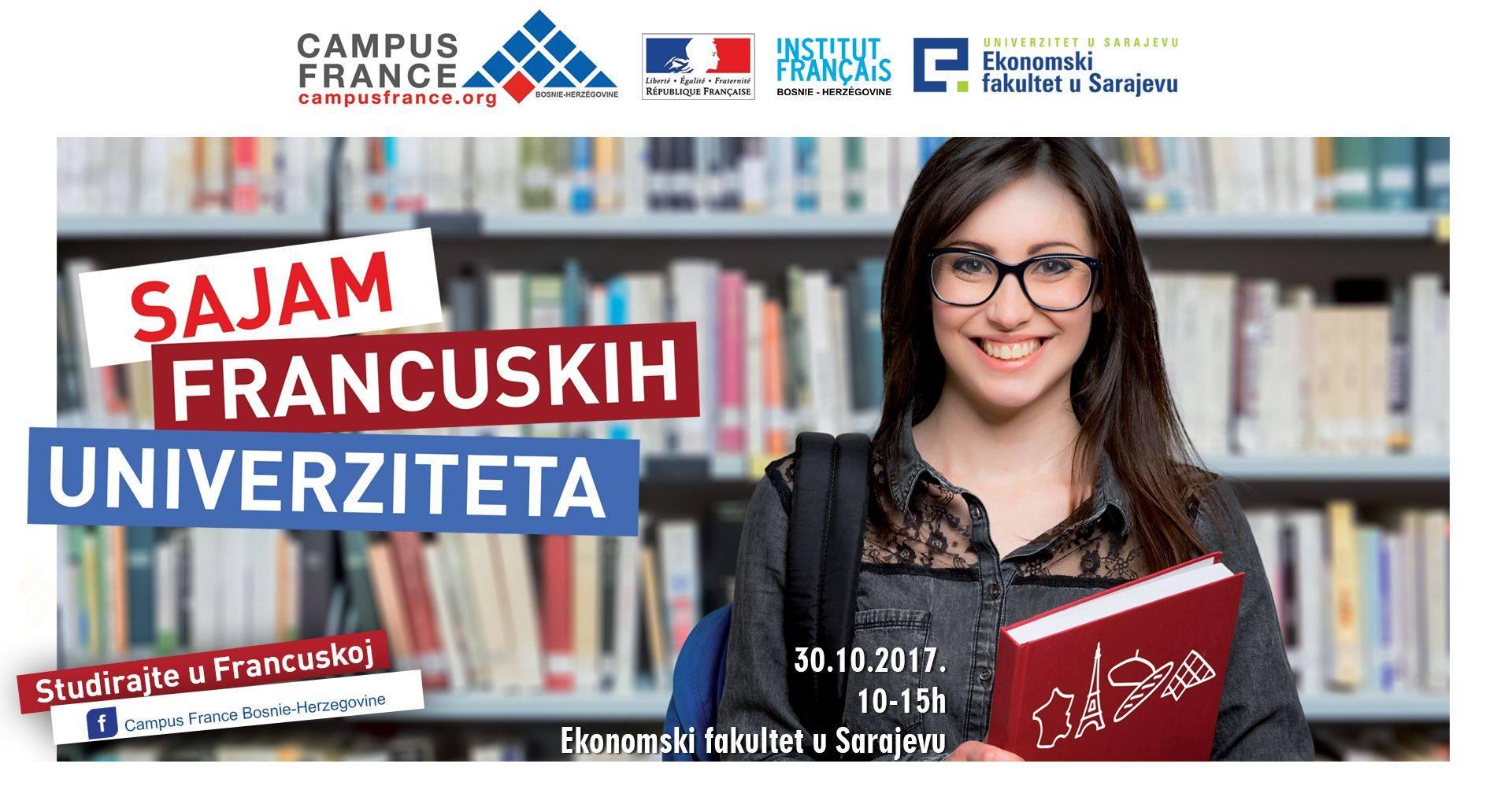 Sajam francuskih univerziteta: Studirajte u Francuskoj