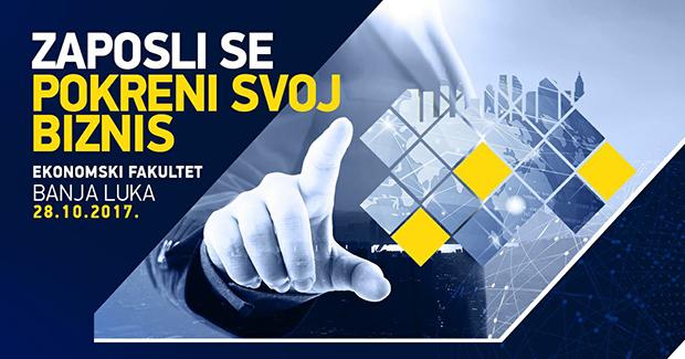 Udruženje mladih ekonomista organizuje konferenciju Zaposli se – Pokreni svoj biznis