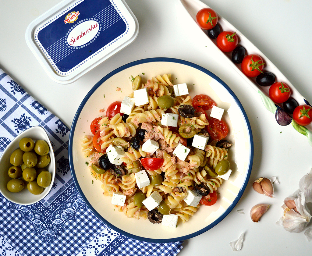 Studentski recepti: Mediteran salata