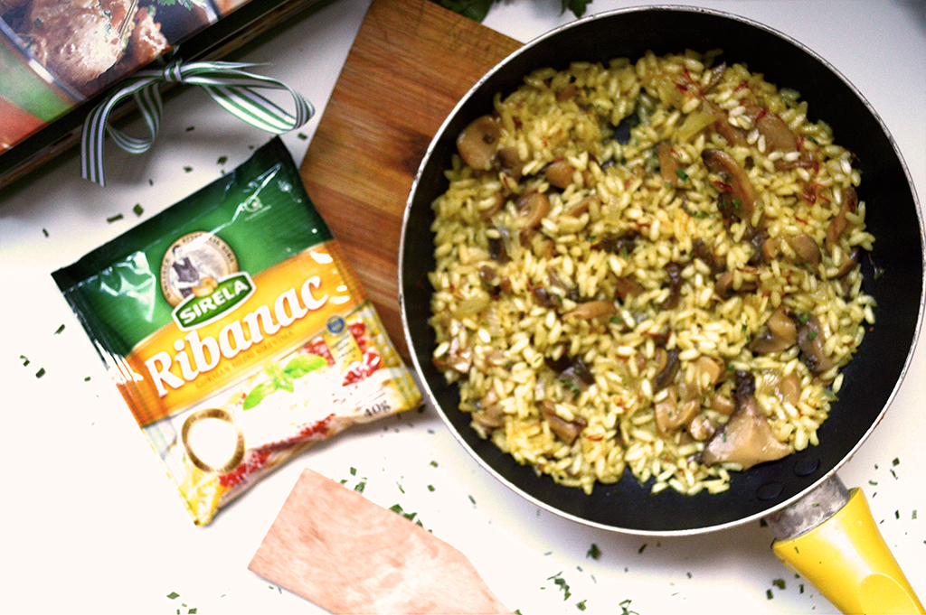 Studentski recepti: Rižoto s gljivama i parmezanom