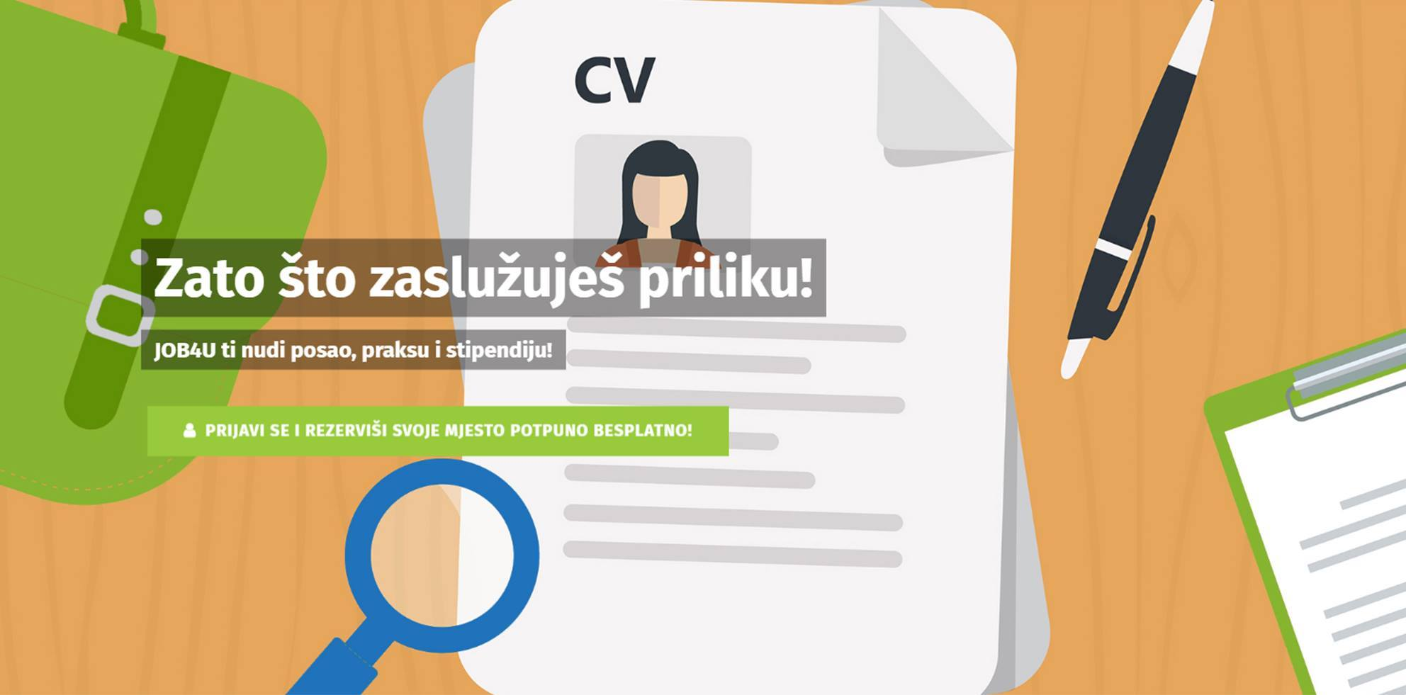 Više od 500 prijava za učešće na Sajmu zapošljavanja JOB4U