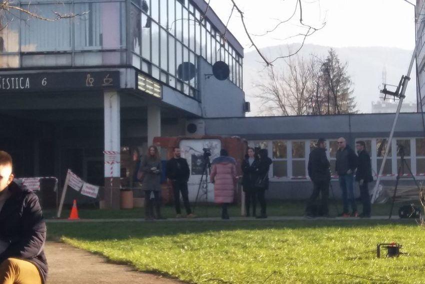 Na studentskim protestima u Banjoj Luci više novinara nego studenata