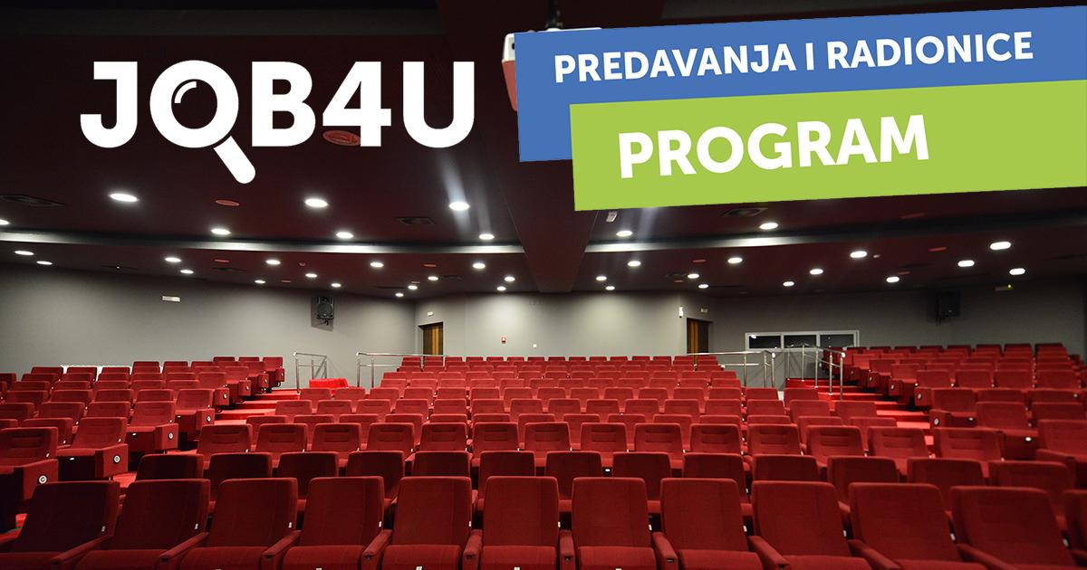 JOB4U objavio program: Iskoristi priliku!