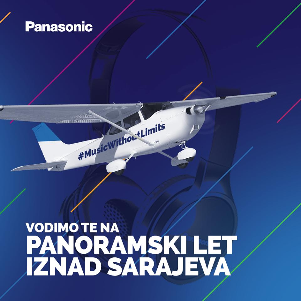 Slušaj omiljenu muziku i poleti iznad Sarajeva