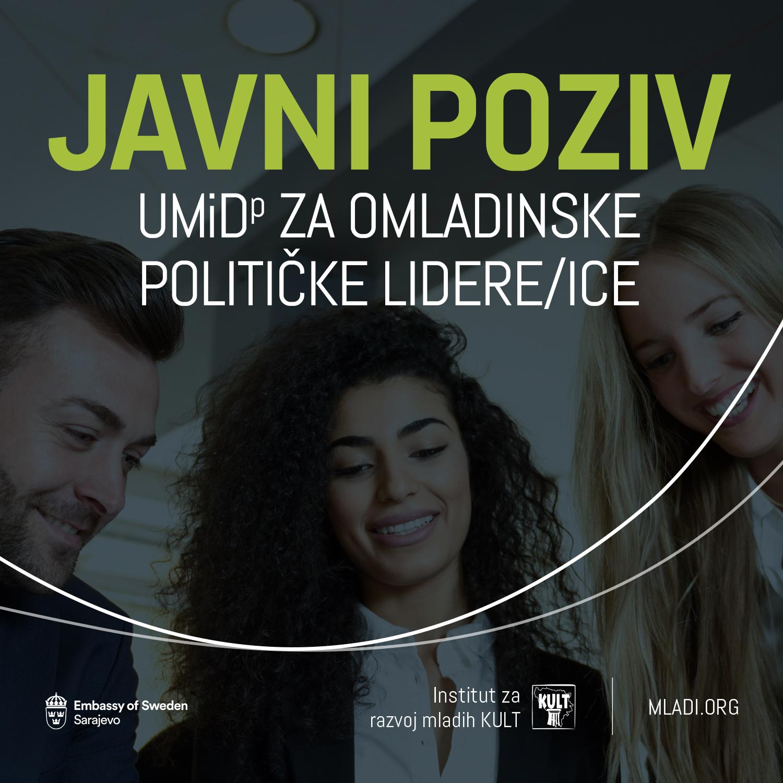 Javni poziv za obuku Uči, misli i djeluj! za omladinske političke lidere/ice UMiD