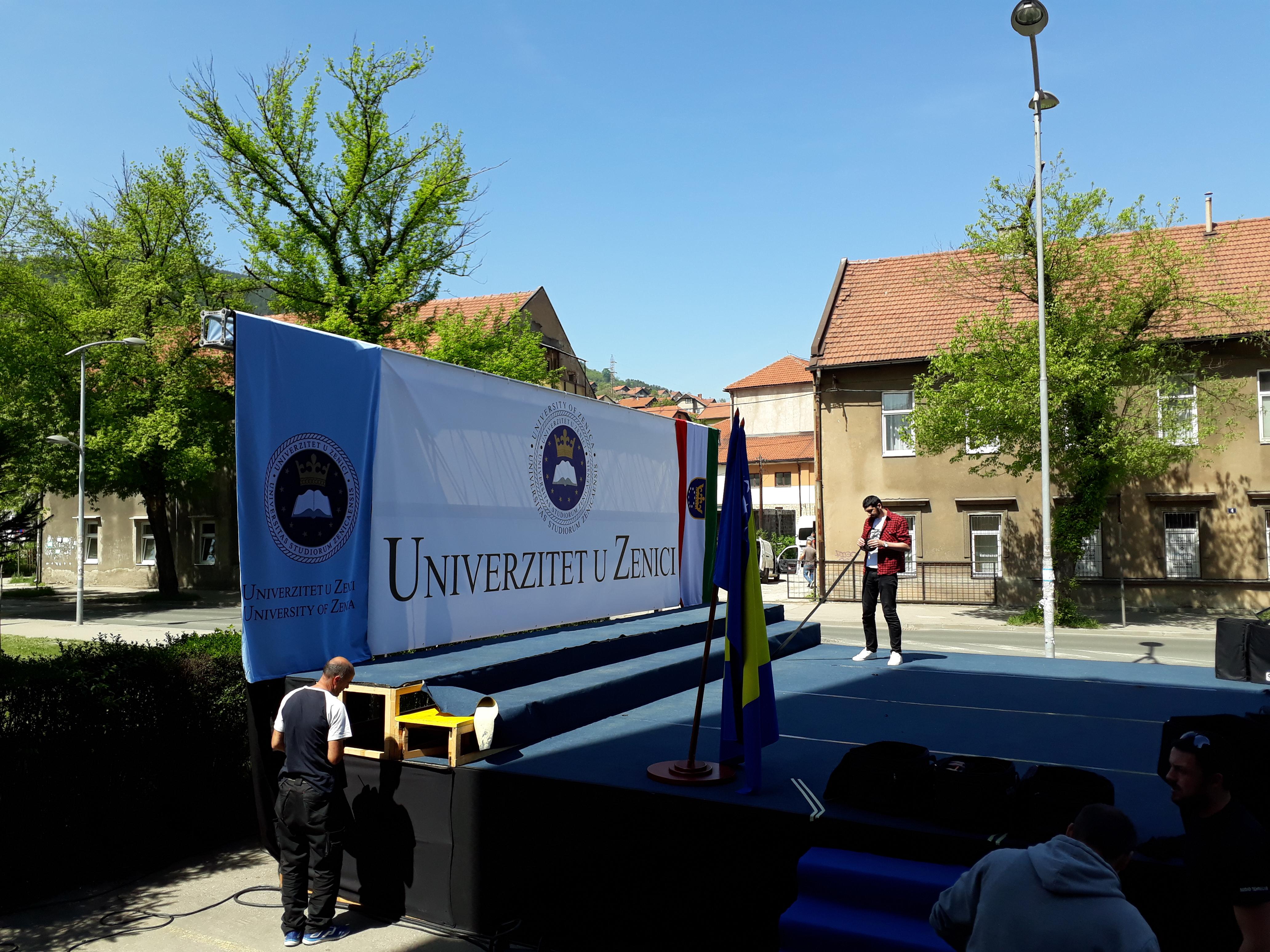 """Održan """"Dan otvorenih vrata"""" na Univerzitetu u Zenici"""