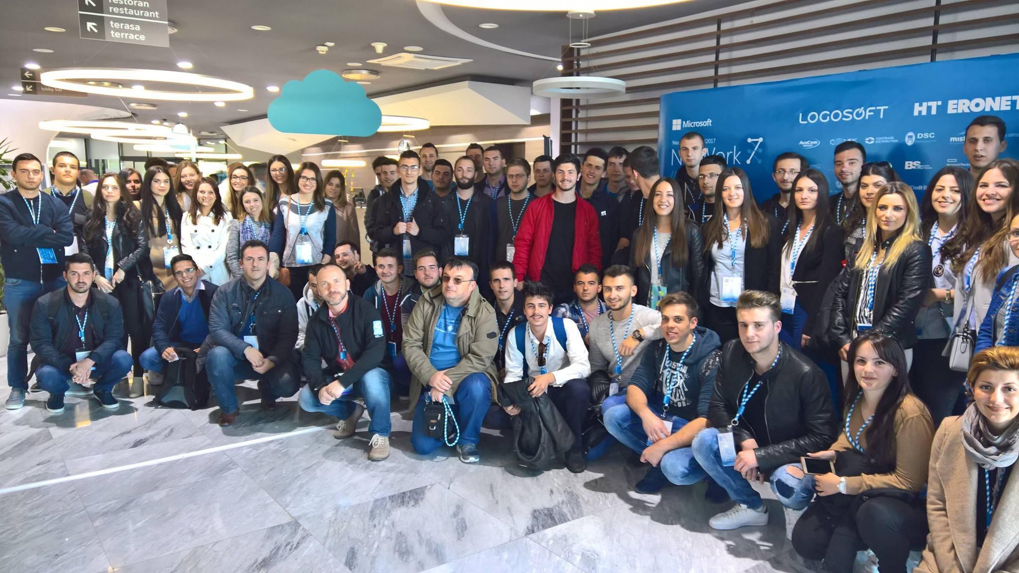 Najbolji studenti Fakulteta informacijskih tehnologija iz Mostara na predavanjima o posljednjim Microsoft tehnologijama