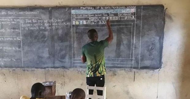 Predavao informatiku bez računara: priča o učitelju iz Gane ima super nastavak