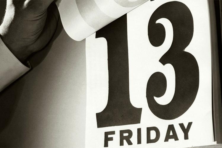 Znate li zašto mnogi petak 13. smatraju nesretnim danom?