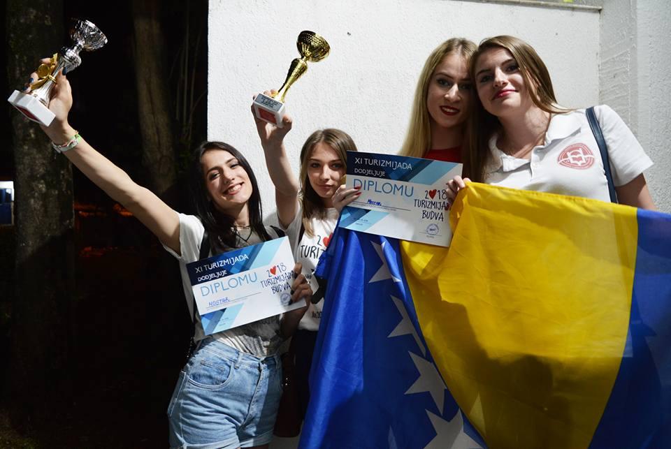 Turizmijada 2018: Studenti Turizma donijeli dva pehara u Mostar