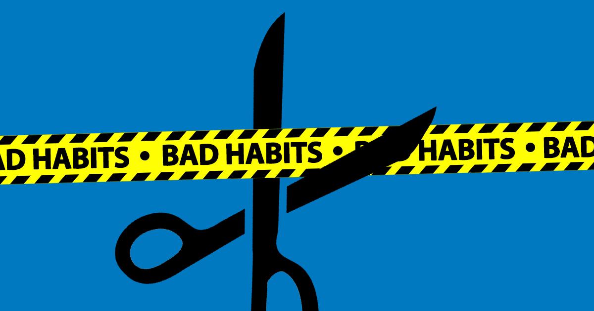 Tri ružne navike kojih se morate riješiti da biste uspjeli