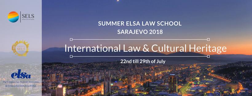 Prijavite se za Sarajevo Summer ELSA Law School 2018