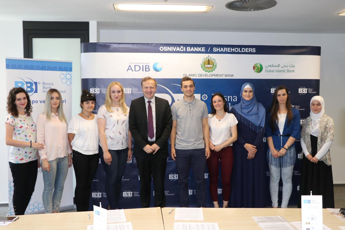 BBI banka u saradnji sa partnerima stipendira deset studenata iz BiH