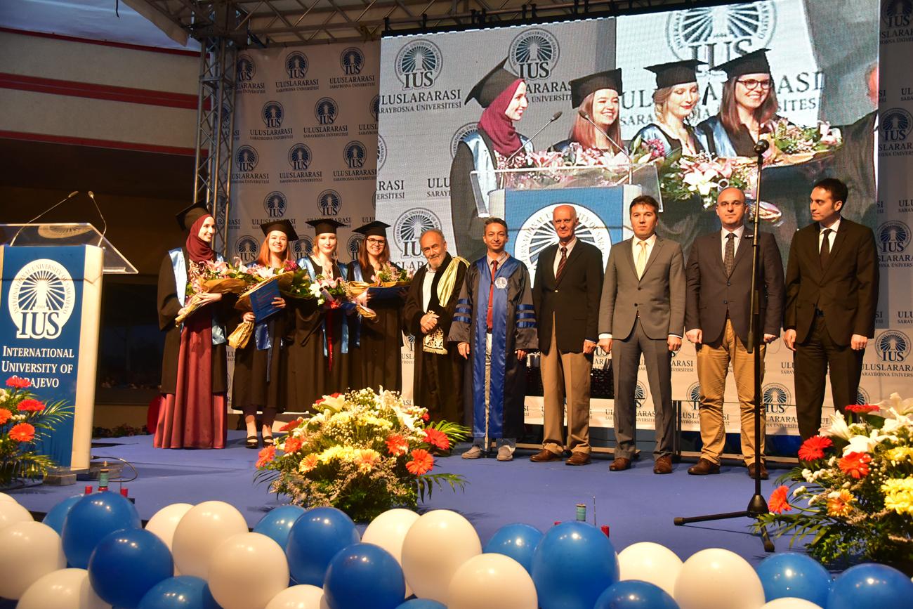 Održana svečana ceremonija dodjele diploma na Internacionalnom univerzitetu u Sarajevu