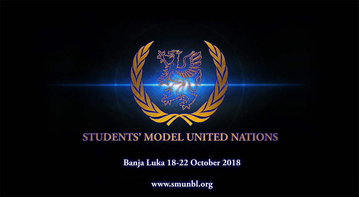 "Prijavite se za učešće na konferenciji ""Students' Model United Nations Banja Luka 2018"""
