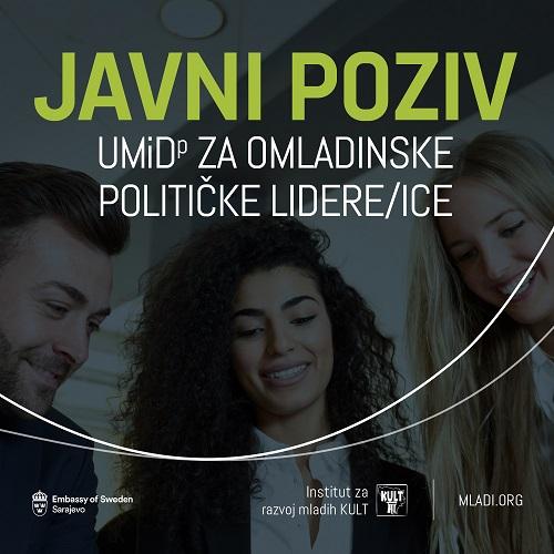 Javni poziv za obuku Uči, misli i djeluj! za omladinske političke lidere/ice (UMiD) Generacija 2.
