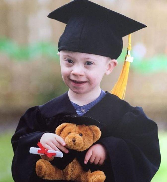 Četverogodišnji dječak sa Down sindromom u ulozi modela