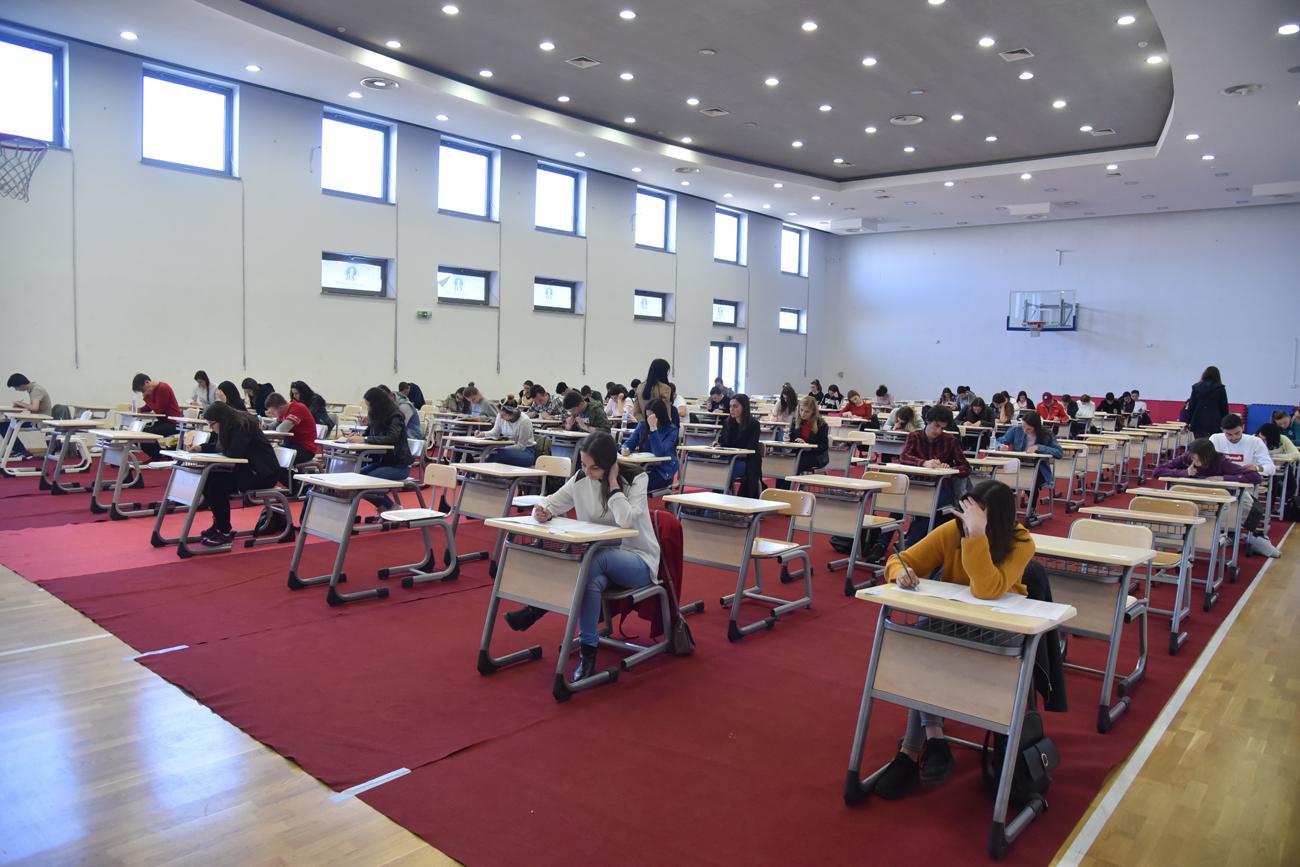 Testiranje za stipendije na IUS-u: Učestvovalo 1400 maturanata iz cijele BiH