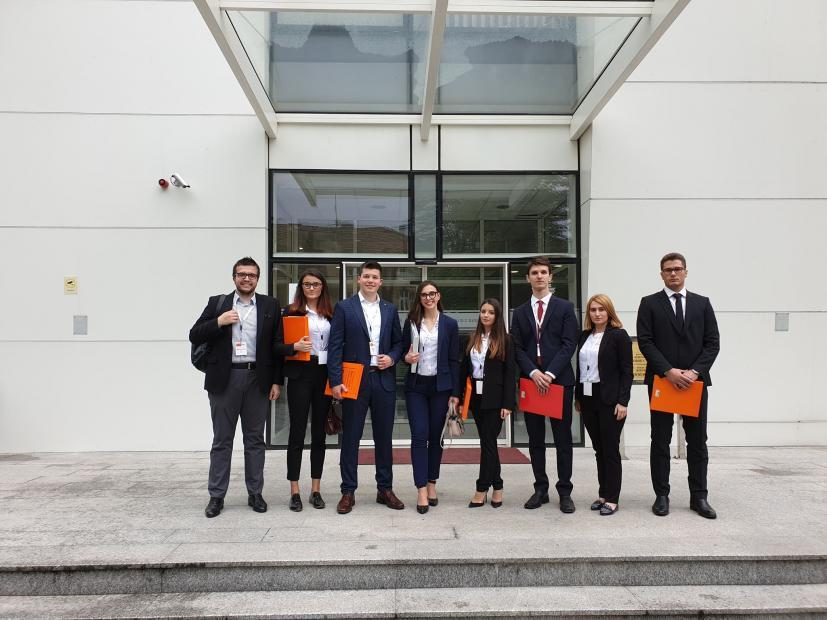 Studenti Pravnog fakulteta u Sarajevu osvojili drugo mjesto na regionalnom takmičenju pred Evropskim sudom za ljudska prava!