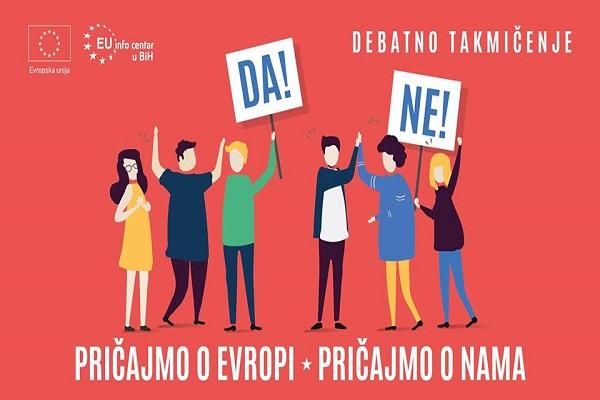 "Finale studentske debate ""Pričajmo o Evropi. Pričajmo o nama!"""