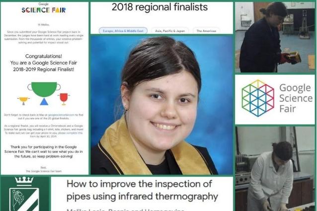 Novi uspjeh Zeničanke Melike Lošić: Postala regionalna finalistica svjetske naučne olimpijade