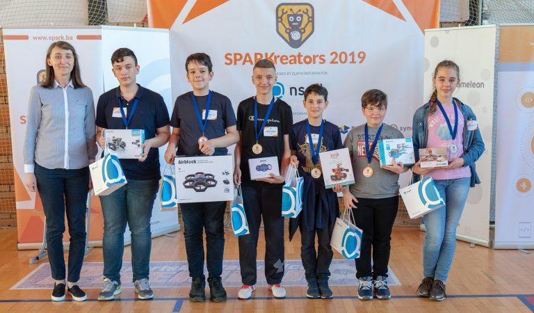 Održano prvo državno natjecanje iz robotike – SPARKreators
