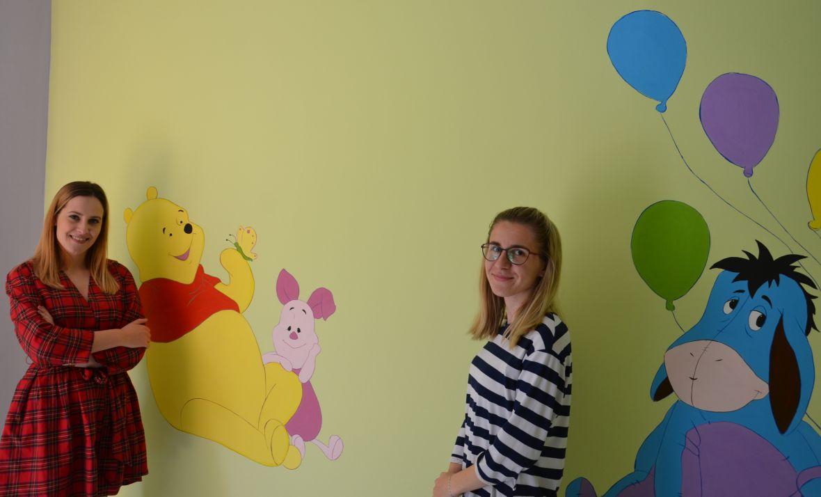 Studentice od svog džeparca oslikale zidove Odjela pedijatrije u Općoj bolnici