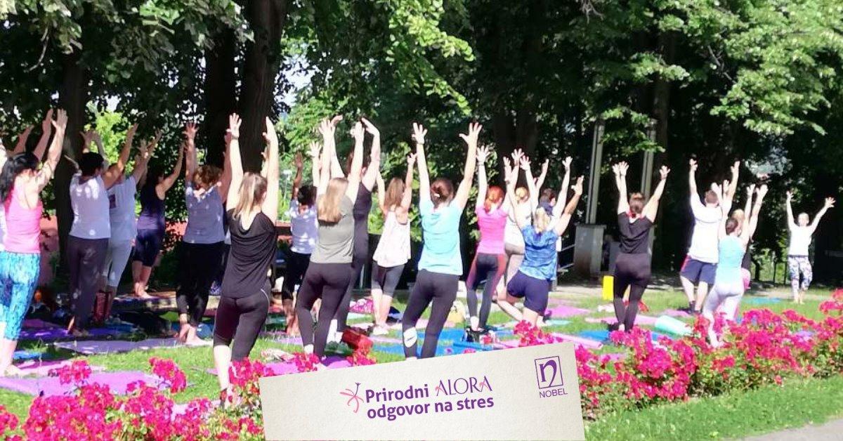 Riješite se napetosti i ispitnog stresa uz Alora body&mind trening na otvorenom