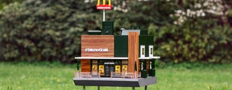 Najmanji restoran na svijetu: Otvoren prvi mini McDonald's za pčele