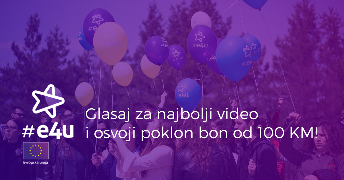 Glasaj za najbolji video i osvoji poklon bon 100 KM