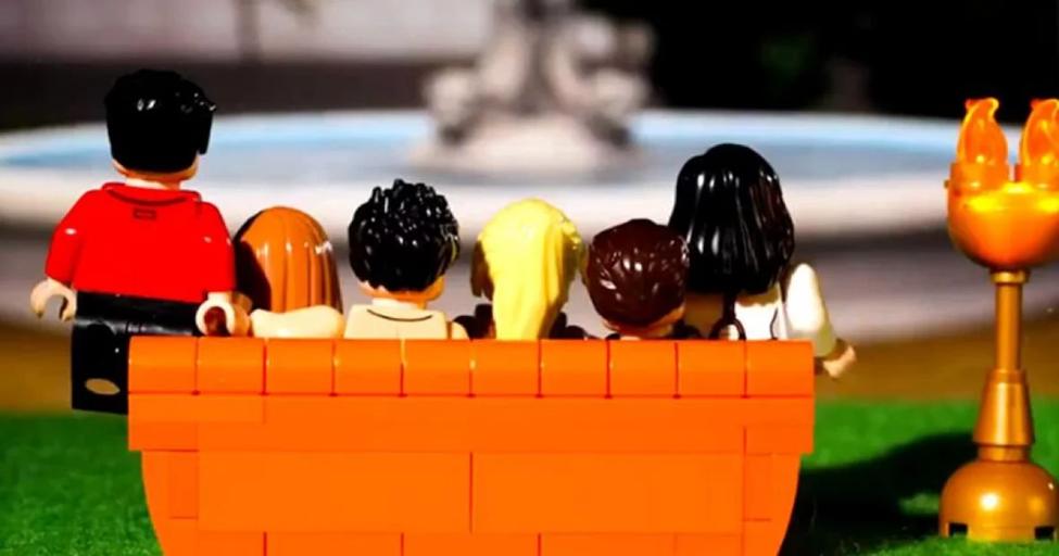 'Lego' proizveo kolekciju posvećenu seriji 'Prijatelji'
