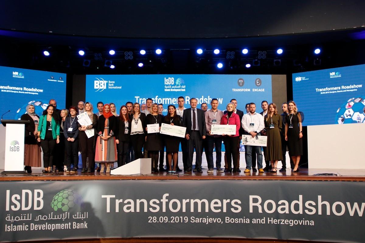 Šesti Transformers Roadshow Islamske razvojne banke nagradio četiri najbolja inovativna projekta iz Bosne i Hercegovine