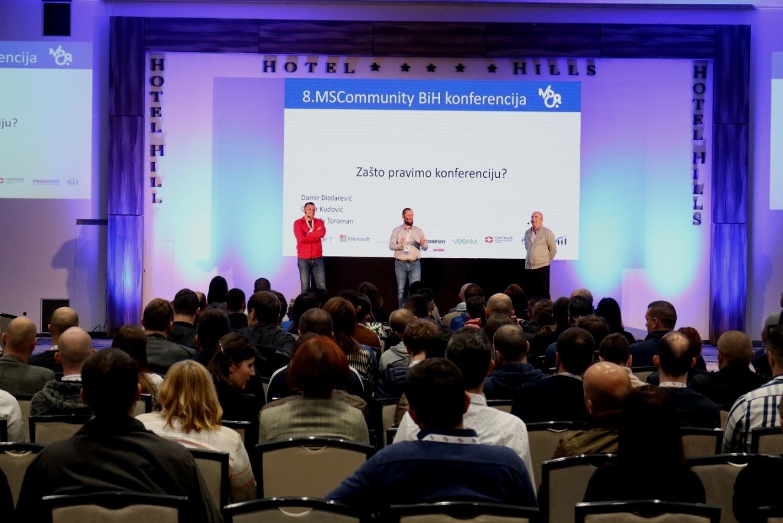 Osma MSCommunity konferencija održana u duhu dijeljenja znanja iz IT tehnologija