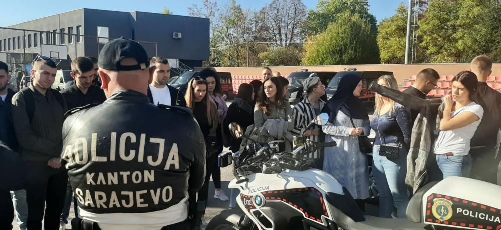 Studenti Fakulteta političkih nauka posjetili Sektor za policijsku podršku