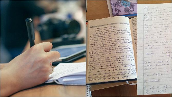 U školi pišeš krasopisom, a na faksu nogom: Studentica pokazala kako joj je studiranje 'uništilo' rukopis
