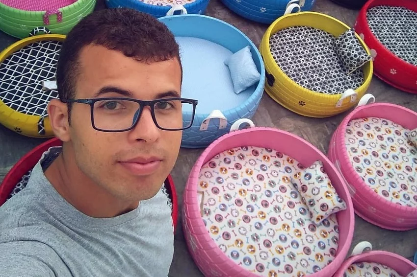 Kreativni Brazilac stare gume koristi za pravljenje kreveta za životinje