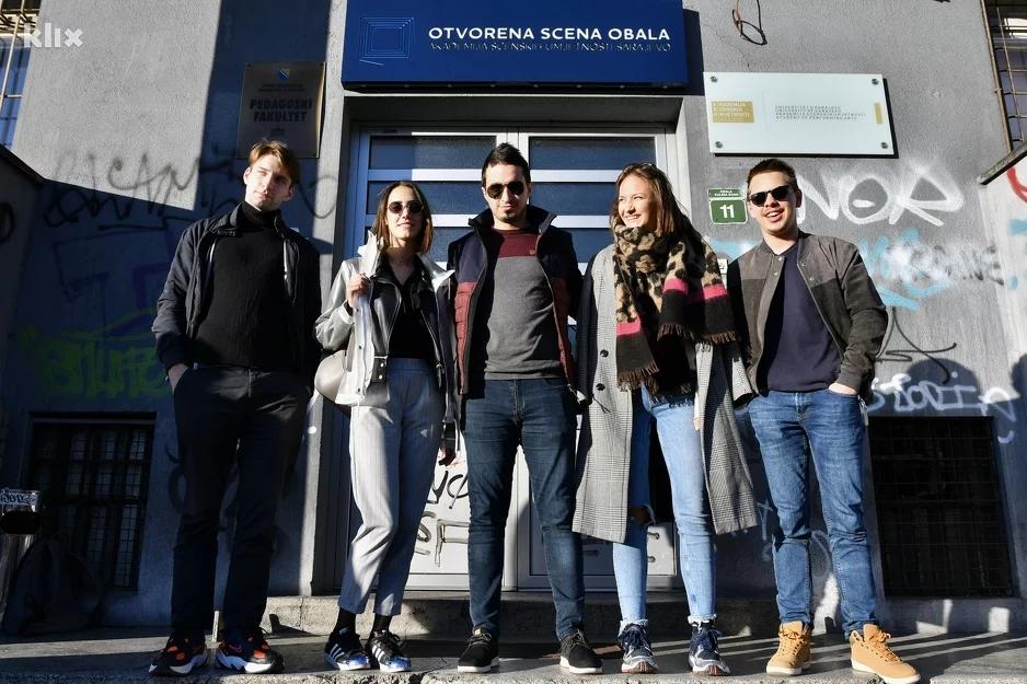Studenti sarajevske ASU Otvorenoj sceni Obala vraćaju nekadašnji sjaj
