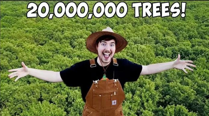Izazov za spas planete: Youtube zvijezde sade 20 miliona stabala