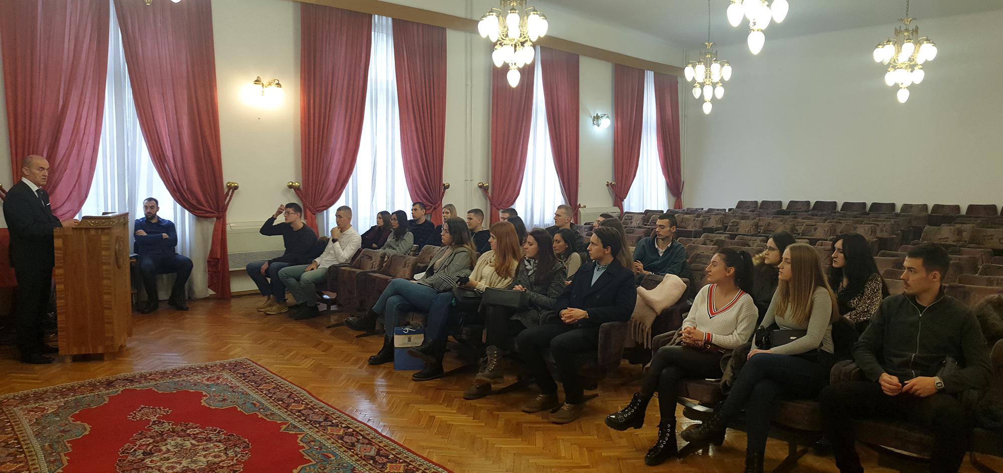 Saradnja studenata pravnih fakulteta Univerziteta u Sarajevu i Univerziteta u Banjoj Luci
