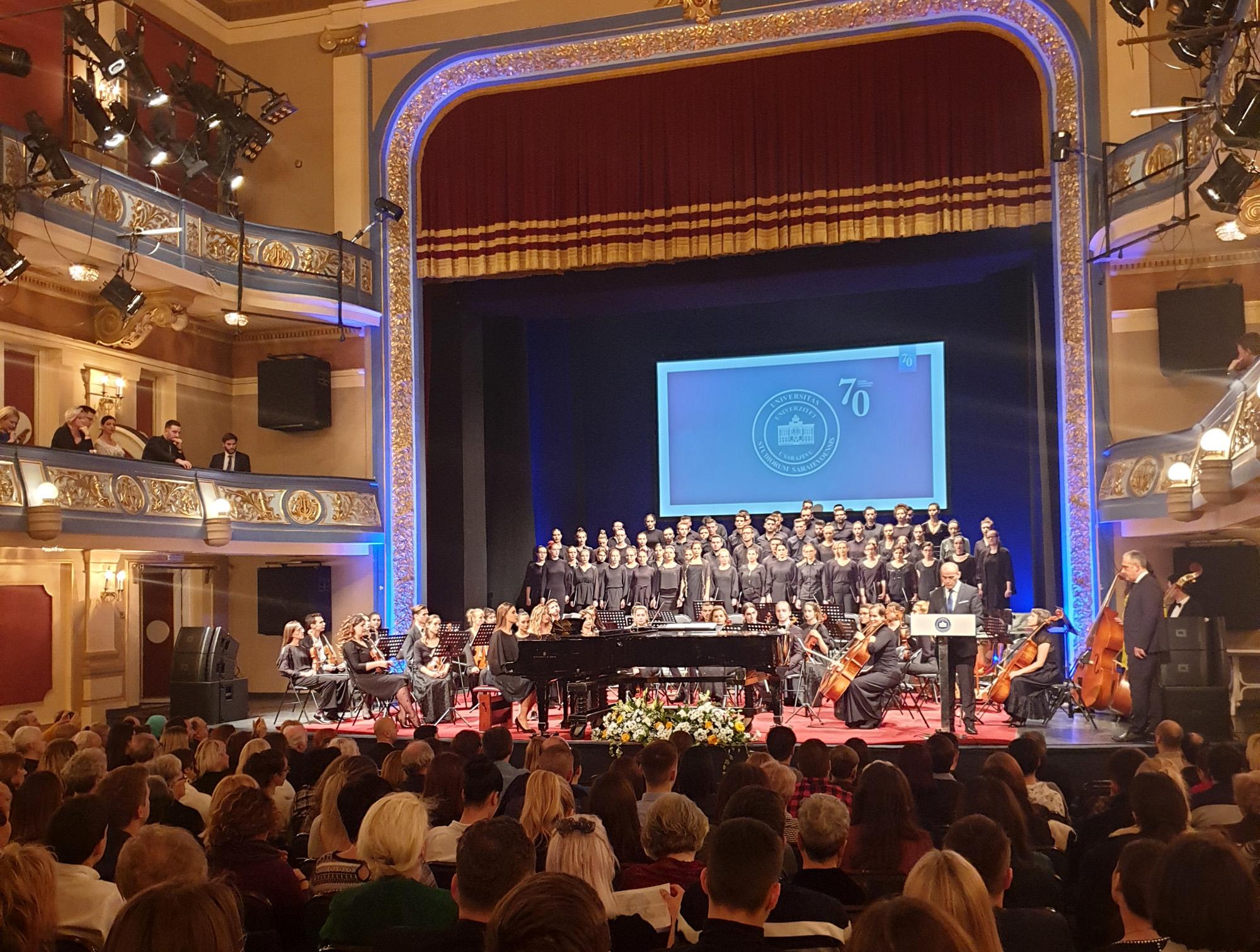 Gala koncert povodom obilježavanja 70 godina Univerziteta u Sarajevu
