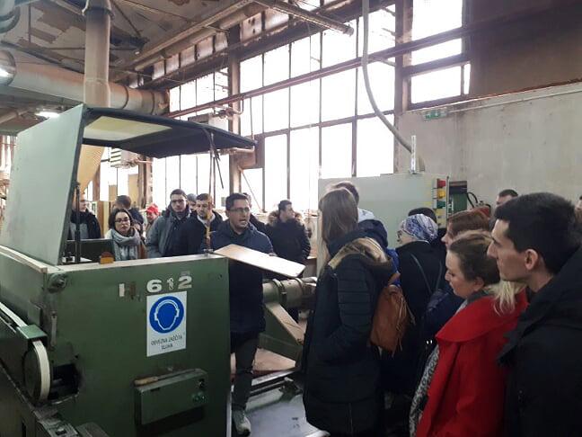 Studenti Mašinskog fakulteta Univerziteta u Sarajevu u posjetama kompanijama i fabrikama