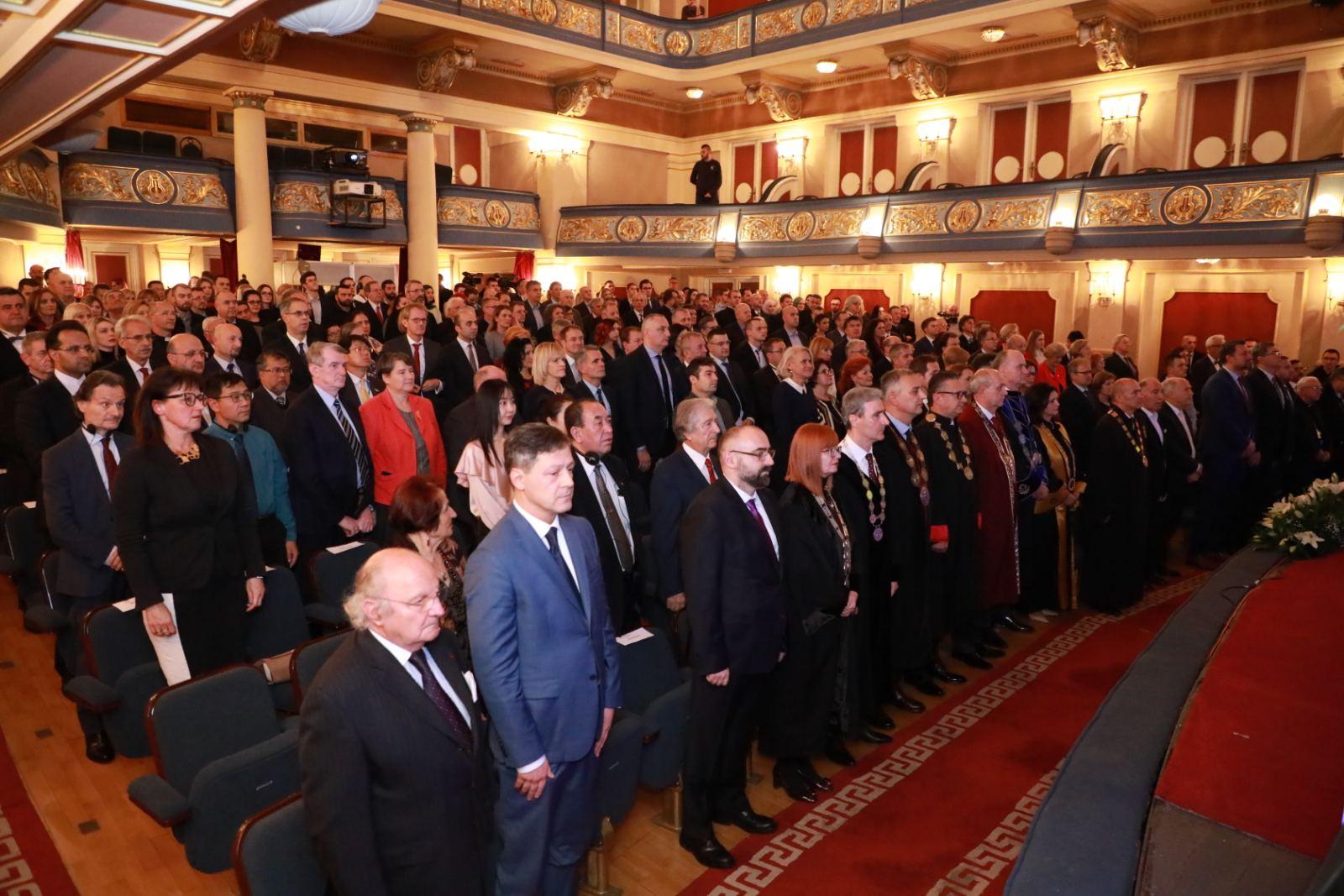 Svečanom akademijom Univerzitet u Sarajevu obilježio 70. godišnjicu